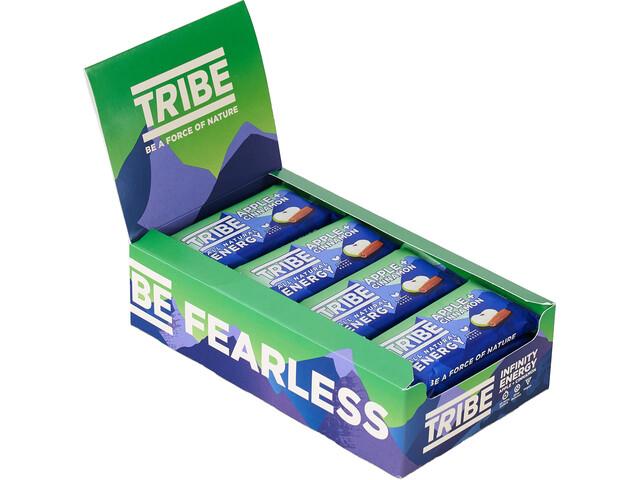 TRIBE Infinity Energy Oat Bar Box 16x47g, apple/cinnamon